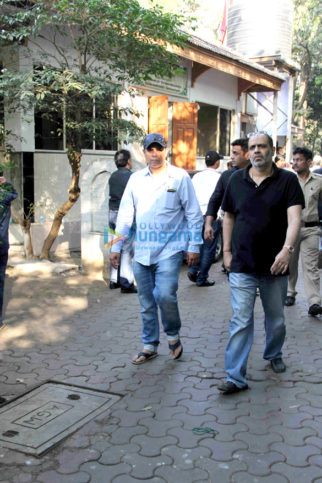 Funeral of Abis Rizvi's Film Producer