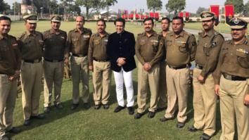 Govinda meets BSF Jawans in Delhi-1