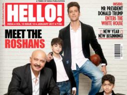 Rakesh Roshan & Hrithik Roshan On The Cover Of Hello!