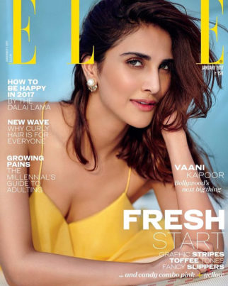 Hot and summery: Vaani Kapoor on the cover of Elle