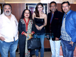 Hrishitaa Bhatt and other celebs snapped at the special screening of the film 'Prakash Electronics'