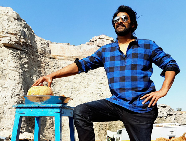It's a wrap for Prabhas on Bahubali The Conclusion