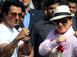 Jackie Chan Arrives At Mumbai Airport