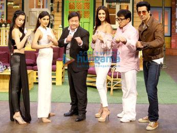 Jackie Chan and Sonu Sood on 'The Kapil Sharma Show'