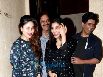 Kareena Kapoor Khan & Sophie Choudry snapped post dinner at Manish Malhotra's house