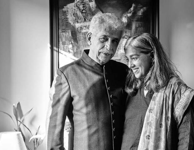 Naseeruddin Shah and his family's royal photoshoot-1