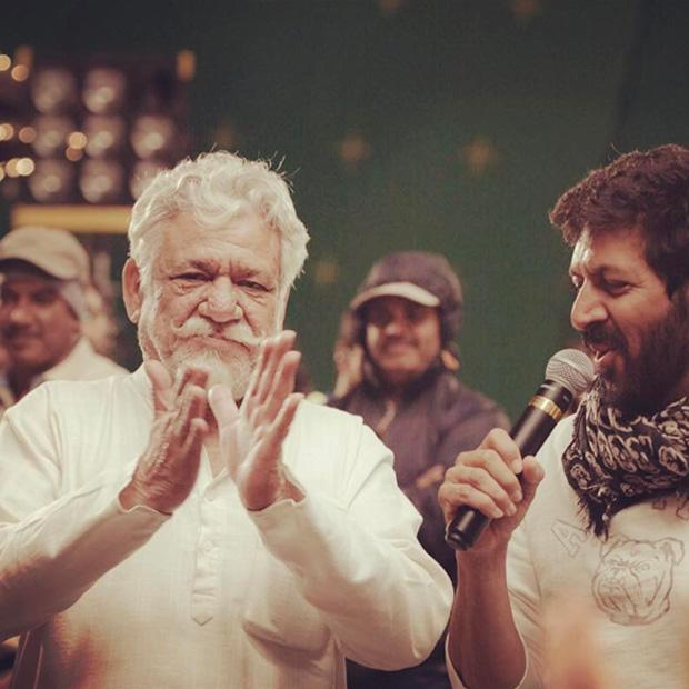 Om Puri on the sets of his last film Tubelight 1