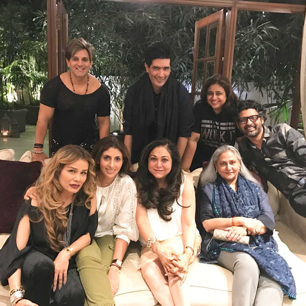 Jaya Bachchan, Shweta Bachchan-Nanda, Tina Ambani, Yash Birla, and others attend Manish Malhotra's dinner party