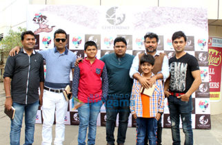 Promotions of the film 'Alif' at Thakur College