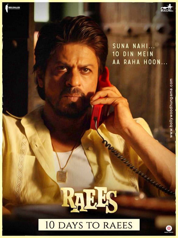 RAEES (2017) con SRK + Jukebox + Sub. Español + Online Raees-11