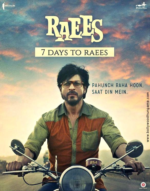 RAEES (2017) con SRK + Jukebox + Sub. Español + Online Raees-8-1