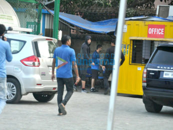 Ranbir Kapoor and others snapped at football practice