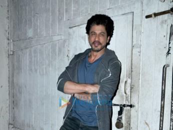 Shah Rukh Khan snapped at 'Raees' promotions