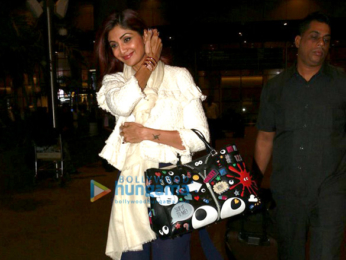Shilpa Shetty & Vaani Kapoor snapped at the airport