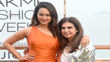 Sonakshi Sinha walks for Monisha Jaisingh's at Lakme Fashion Week opening show