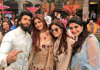 Check out: Sridevi, Shilpa Shetty and others at a wedding in Hyderabad