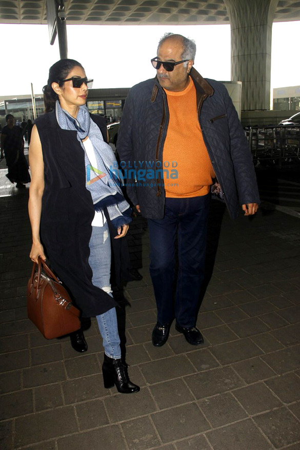 Sridevi, Tamannaah Bhatia and Kanika Kapoor snapped at the airport