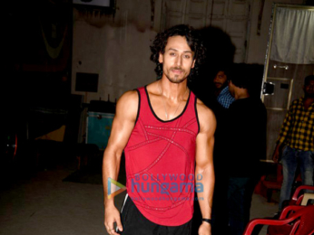Tiger Shroff, Nidhhi Agerwal and Ayesha Shroff snapped during Munna Michael's promotions