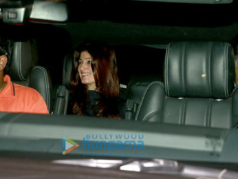 Akshay Kumar, Hrithik Roshan, Sussanne Khan & Twinkle Khanna snapped post a movie screening at Sunny Super Sound