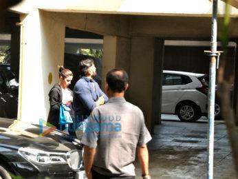Alia Bhatt snapped arriving at Sidharth Malhotra's house