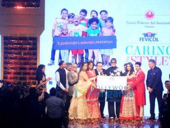Amitabh Bachchan, Varun Dhawan, Alia Bhatt & Sonali Bendre grace Abu Jani & Sandeep Khosla's fashion show for CPAA