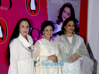 Amitabh Bachchan graces the launch of Divya Dutta's book Me & Ma