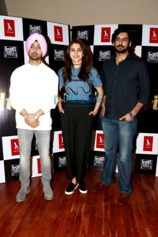 Anushka Sharma and cast of 'Phillauri' snapped promoting the film