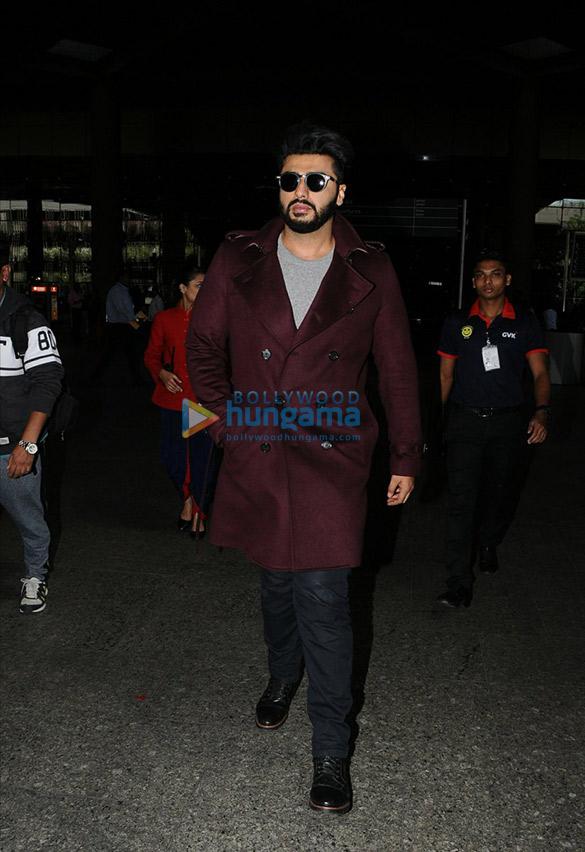 Arjun Kapoor, Huma Qureshi and Parineeti Chopra snapped at the airport
