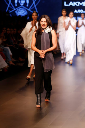 Celebs grace 'The White Rose Collection' by Reshma Merchant's House Of Milk at Lakme Fashion Week 2017