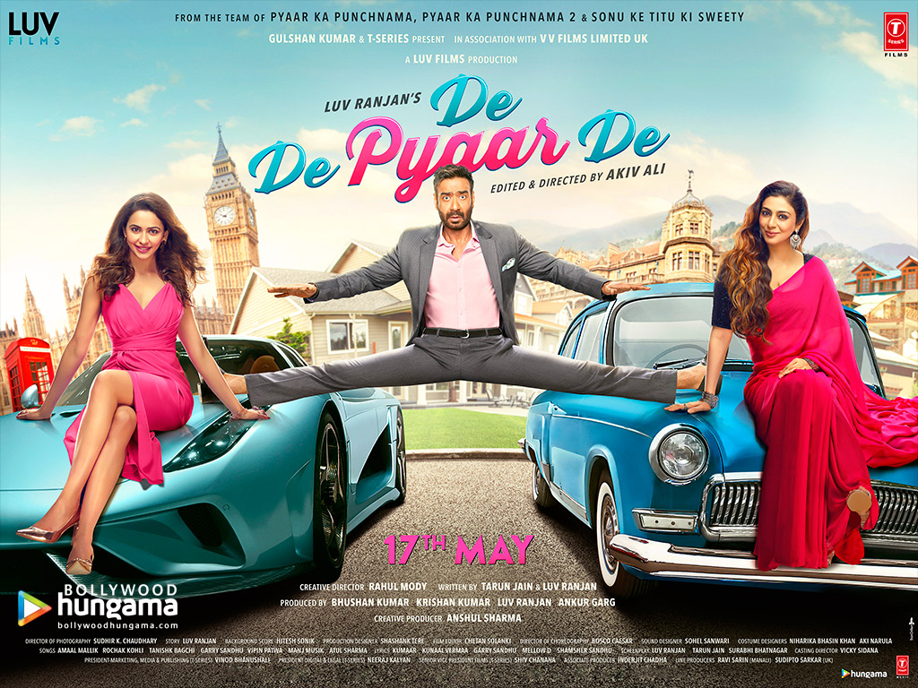 Movie Wallpapers Of De De Pyaar De