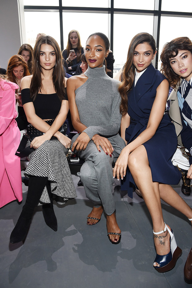 Deepika Padukone at New York Fashion Week 2017