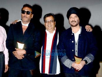 Jackie Shroff, Anil Kapoor at the launch of Subhash Ghai's Mukta A2 multiplex