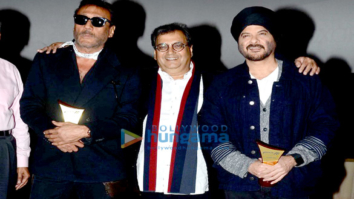 Jackie Shroff, Anil Kapoor at the launch of Subhash Ghai's Mukta A2 multiplex
