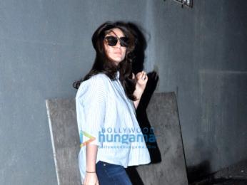 Kareena Kapoor Khan and Amrita Arora snapped post salon session at Freeda, Bandra