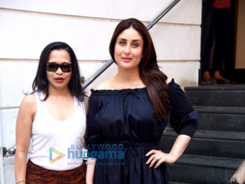 Kareena Kapoor Khan snapped with celebrity nutritionist Rujuta Diwekar while discussing obesity and undernourishmen