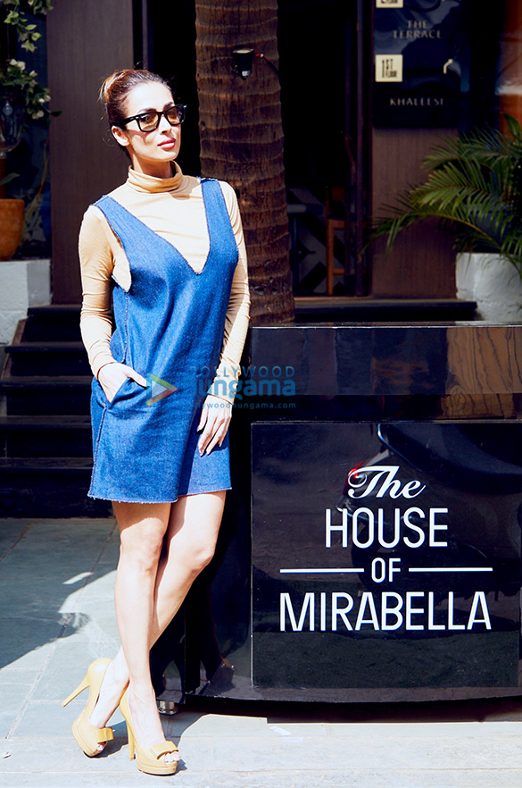 Malaika Arora Khan and Arjun Bijlani spotted at House of Mirabella