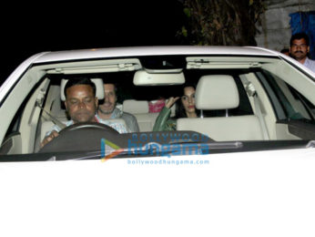 Mallika Sherawat snapped post dinner with friends