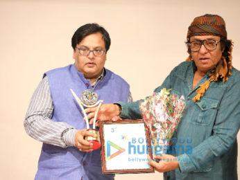 Veteran actor Ranjeet felicitated at 3rd International Film Festival of Prayag