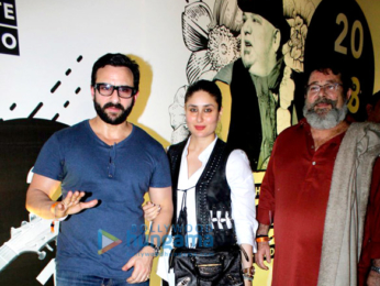 Saif Ali Khan, Kareena Kapoor Khan and Amrita Arora snapped at Mahindra Blues concert in Mumbai
