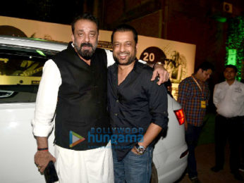 Sanjay Dutt snapped with OWen Roncon at Mahindra Blues Festival
