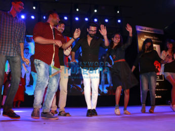 Shahid Kapoor inaugurates the 'Kala Ghoda Arts Festival 2017'