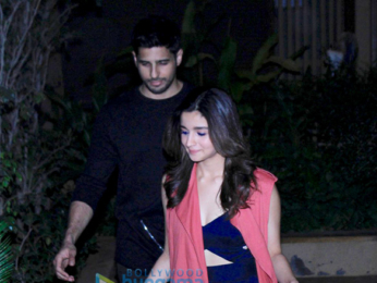Shahid Kapoor's pre birthday bash at his home in Juhu