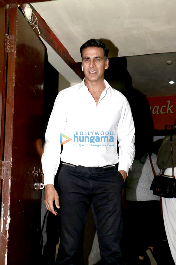Special screening of Jolly LLB 2 at PVR Juhu