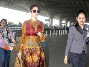 Sridevi, Parineeti Chopra and Ayushmann Khurrana snapped at the airport
