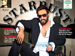 Ajay Devgn On The Cover Of Stardust