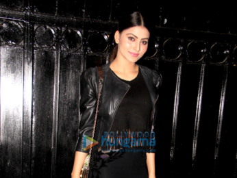 Urvashi Rautela spotted at Krisha Bungalow Juhu