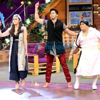 Varun Dhawan, Alia Bhatt promote 'Badrinath Ki Dulhania' on 'The