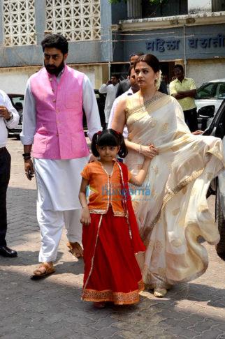 Aishwarya Rai Bachchan's (late) father Krishnaraj Rai's shraddhanjali ceremony at 'Bunts Sangha Bhavan'