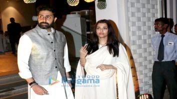 Aishwarya Rai Bachchan's (late) father Krishnaraj Rai's shraddhanjali dinner at Blue Sea, Worli