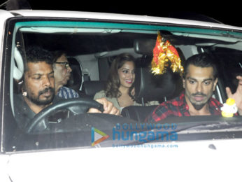 Bipasha Basu & Karan Singh Grover snapped post a movie screening at PVR Juhu